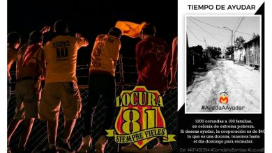 Photo of Locura 81 Convoca A Llevar Corundas a Familias Necesitadas En Morelia