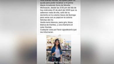 Photo of #Morelia Familia Pide Ayuda Para Localizar A Mayte En Redes Sociales