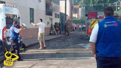 #Morelia Refrigerador Se Pone Cachondo, Hace Corto, E Incendia Edificio Del SNTE