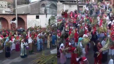 Photo of #Michoacán Nueva Jerusalén Celebra Domingo De Ramos Con Mega Representación Y Multitud