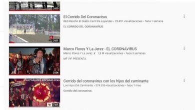 Photo of Pandemia De COVID-19 E Influenza, Las Musas De Inspiración Para Los Corridos