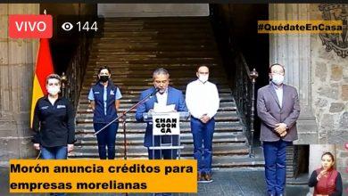 Photo of #Morelia Serán Más De 500 MDP Los Que Se Dispersarán Para Apoyar Empresas