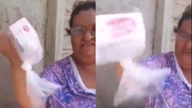 Photo of #Video Le Entregan Despensa A Doñita, Le Hace El Feo Y La Apodan #LadyZote