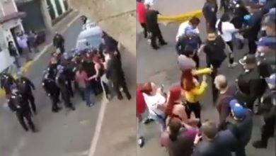 Photo of #Video Se Agarran A Trancazos Con Polis Por Defender A Maleante En CDMX