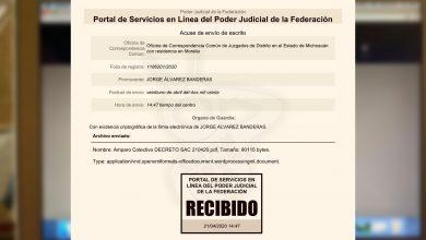 Photo of #Michoacán Abogados Interponen Amparo Para 'Tumbar' Aislamiento Obligatorio
