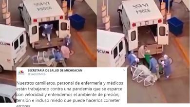 Photo of #Morelia Pide SSM No Magnificar Caída De Enfermo De Una Camilla En El Hospital Civil