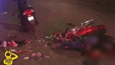 Photo of Fatal Choque Entre Motos, Lamentable Muere Menor Y Un Lesionado En Zamora