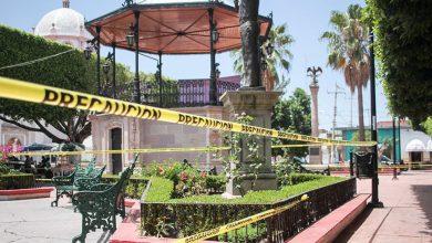 Photo of #Michoacán Acordonan Plazas De Santa Ana Maya Para Evitar #Covid-19