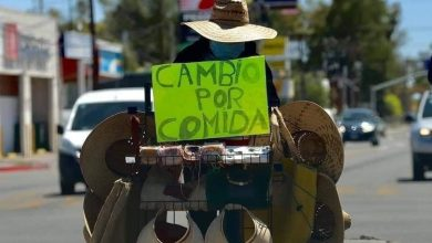 "Photo of #Morelia ""Cambio Por Comida"", Se Viraliza Foto De Vendedor Ambulante"