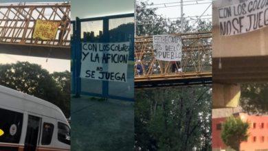 Photo of 'Tapizan' Puentes De Morelia Con Lonas En Contra De La Salida De Monarcas