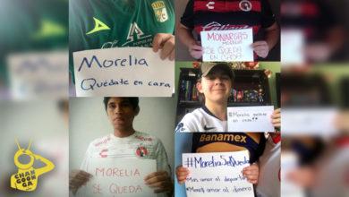 Photo of Afición De Otros Equipos Apoyan Al Monarcas Y Se Suman Con #MoreliaNoSeVa