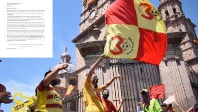 Photo of Ante Rumores De Mudanza Afición Del Monarcas Manda Carta A Salinas