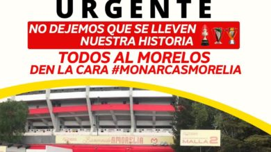 Photo of #Morelia Lanzan Convocatoria Urgente Ante Mudanza Del Morelos