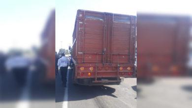Photo of Elementos De La Policía Municipal De Uruapan, Frustran Robo De Camión