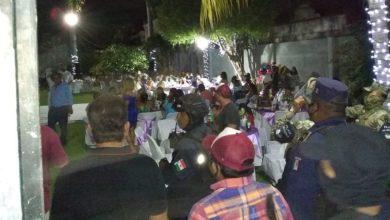 Photo of En Acapulco Siguen Necios, Dispersan A 600 Personas De Fiesta De XV Años Y Boda