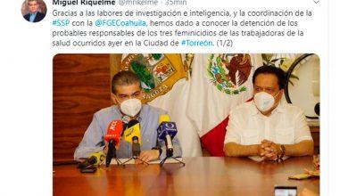 Photo of Capturan A Presuntos Asesinos De 2 Enfermeras Y Secretaria IMSS En Coahuila