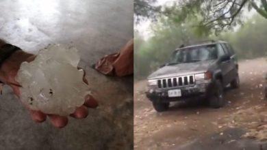 Photo of #Video Granizo Gigante En Nuevo León Sorprende A Pobladores
