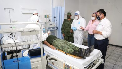 Photo of Habilitan Hospital Militar En Michoacán pa' Atención De COVID-19