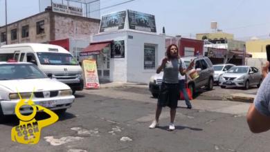 """Photo of #Morelia """"Los Niños Piden De Comer"""" Dice Locatario Del MI Mientras Detiene El Tráfico"""