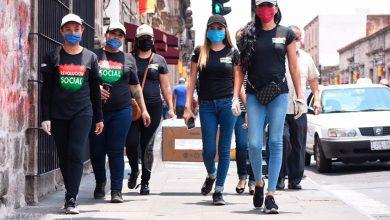 Photo of #Morelia Chicas De Revolución Social Reparten Comida En El Centro COVID-19