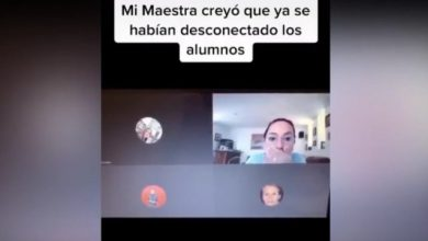 Photo of #Video Maestra Insulta A Sus Alumnos Antes De Apagar El Micrófono