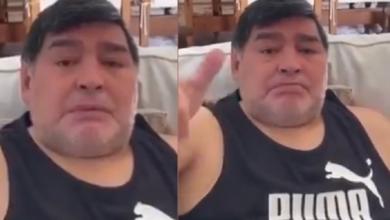 Photo of #Video Maradona Rompe En Llanto Al Pedir Comida Para Los Pobres