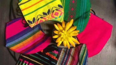 Photo of Mexicana Triunfa En Los Ángeles Con Cubrebocas Artesanales
