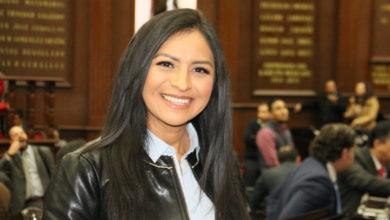 #Michoacán Araceli Saucedo De Las Diputadas Más Productivas En El Congreso