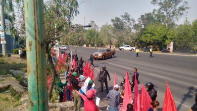 Photo of #Morelia Antorchistas Se Manifiestan Frente A Casa De Gobierno