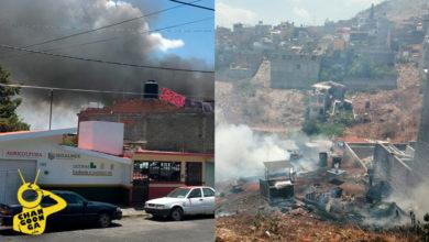 Photo of #Morelia Arden 3 Casas Al Oriente De La Ciudad Por Supuesta Fuga De Gas
