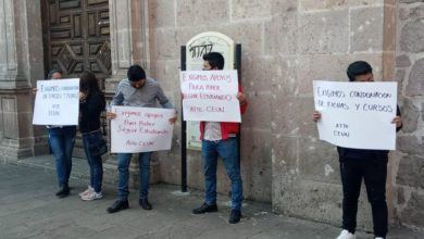 Photo of #Morelia Chavos Se Manifiestan En Tesorería; Exigen Condonación De Fichas