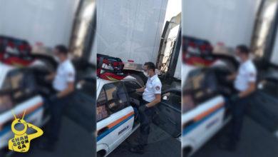 #Morelia Chocan Camión Y Taxi Sobre La Madero; Una Herida Leve