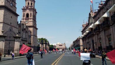 Photo of #Morelia Con Susana Distancia Antorchistas Mantienen Bloqueada La Madero