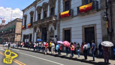Photo of #Morelia Largas Filas En Bancos Por Viernes De Quincena, Algunos Sin Tapabocas