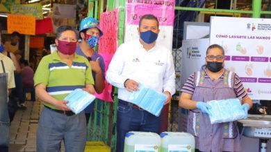 Photo of #Morelia Lleva Sedesoh Insumos Para Prevenir COVID-19 Al Mercado Revolución