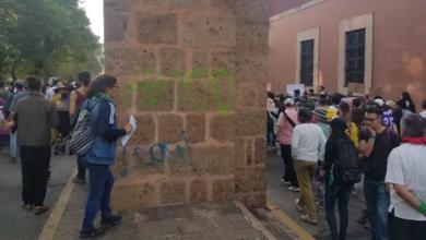 #Morelia Pintas Del Acueducto Serán Retiradas Hasta Que El INAH Labore