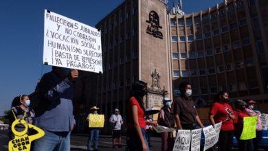 Photo of #Morelia SUEUM Bloquea Paso En Avenida Madero, Exige Pagos Atrasados