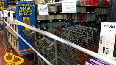 Photo of #Morelia Supermercados Mantienen Acordonadas Zonas De Artículos No Esenciales