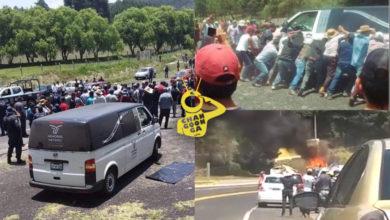 Photo of Pasa En México: Queman Carroza Y Cuerpo, Creían Que Había Muerto Por COVID