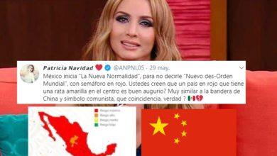 Photo of Paty Navidad Asegura Que Mapa De Semáforos En México Es Bandera Socialista De China