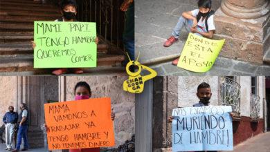 Photo of #ReporGráfica Los Niños Del Mercado, También Salieron Hoy A Manifestarse