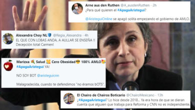 Surge #ApagaAristegui, Critican A Periodista Por Criticar Gobierno De AMLO