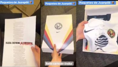 Photo of #Video Por Error Juanpa Zurita Filtra Nuevo Jersey De América Para Apertura 2020