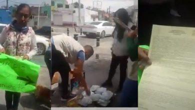 Photo of #Video Quitan Mercancía A Artesana Que Hacia Trueque Por Comida En Jalisco