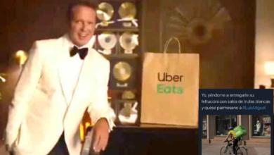 Photo of #Video Sorprende Luis Miguel Saliendo En Comercial De Uber Eats