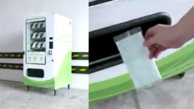 Photo of #Video ¿Nueva Normalidad? Crean Máquinas Expendedoras De Cubrebocas