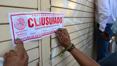 Photo of #Morelia Denuncia Penal A Quien Rompa Sellos De Clausurado, Advierte Ayuntamiento
