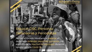 Photo of #México Durante Contingencia, Han Asesinado 2 Periodistas Y 4 Defensores De Derechos