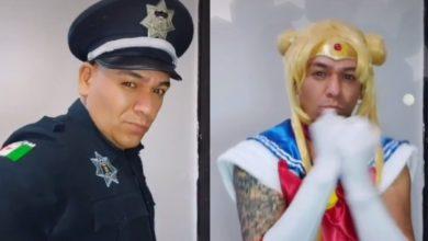 Photo of #Video Supuesto Poli De Guanajuato Se Convierte En 'Sailor Moon' Para Tiktok