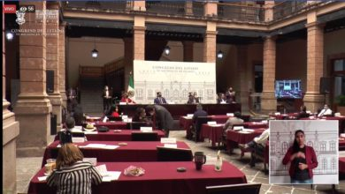 Photo of Diputado Madriz Rinde Informe Al Dejar Presidencia Del Congreso De Michoacán
